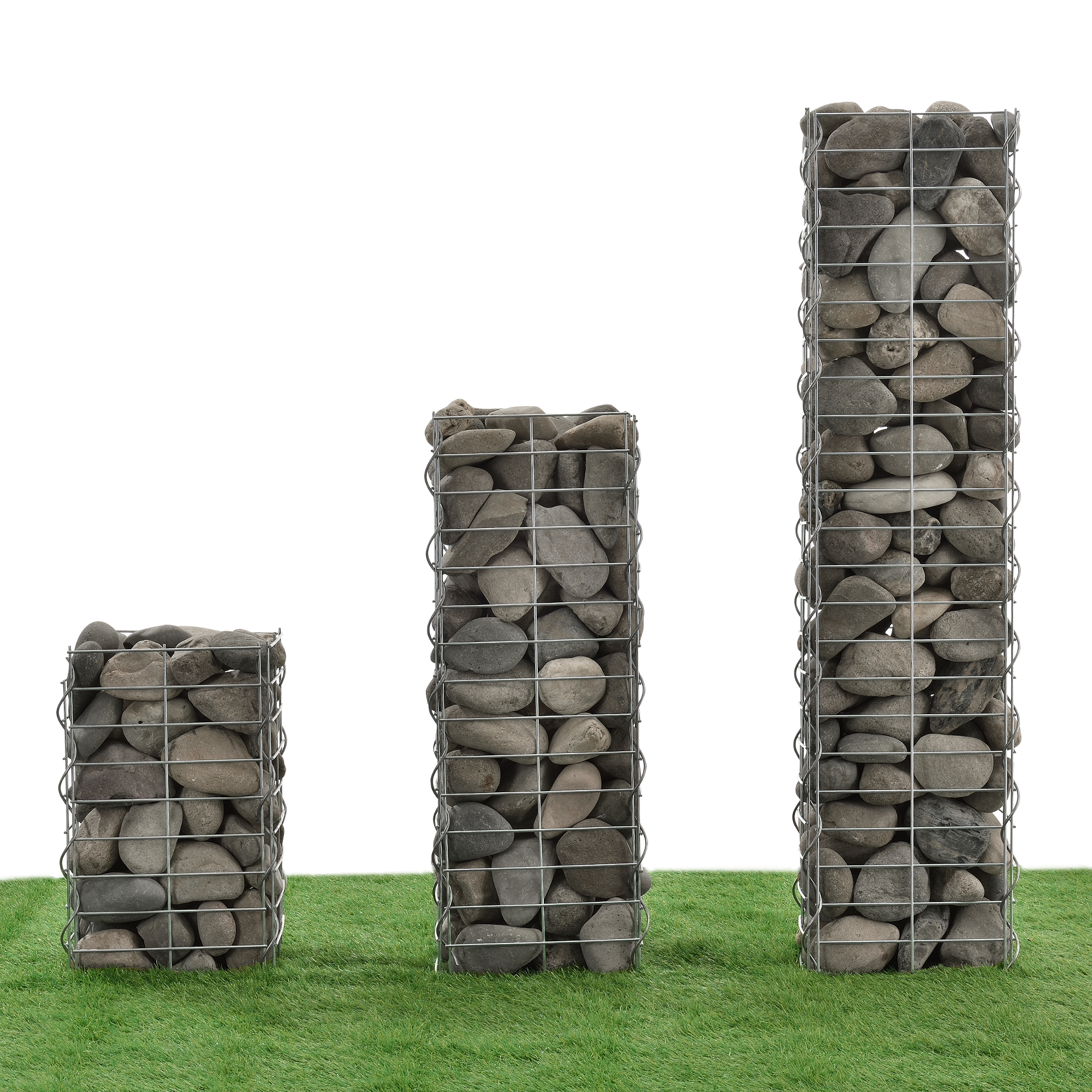 5x gabionen je 100x100x30cm steingabione steinkorb mauer wand stein gabionen ebay. Black Bedroom Furniture Sets. Home Design Ideas